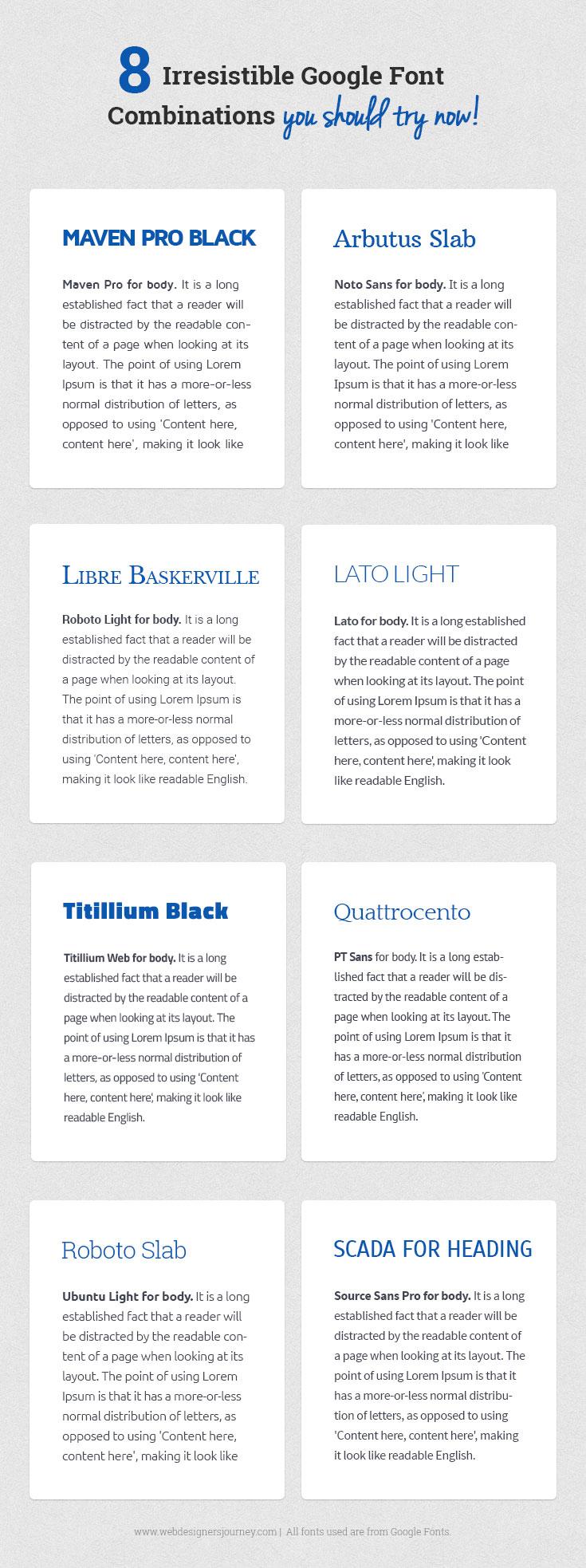 Lato « Web Designer's Journey